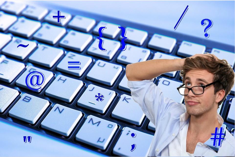一分鐘秒懂鍵盤上的符號英文怎麼說 - HOWDY語言學校